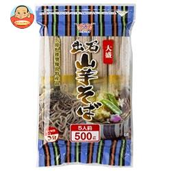 田靡製麺 大盛出石山芋そば 500g×12袋入