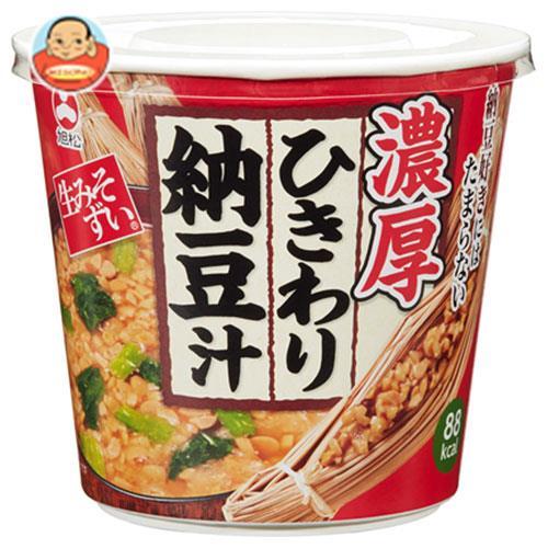 旭松食品 カップ生みそずい濃厚ひきわり納豆汁 32.8g×6袋入