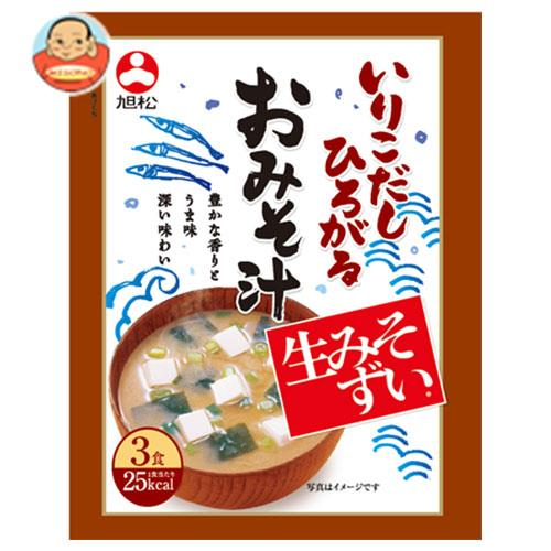旭松食品 袋入生みそずい いりこだしひろがるおみそ汁3食 48.3g×10袋入