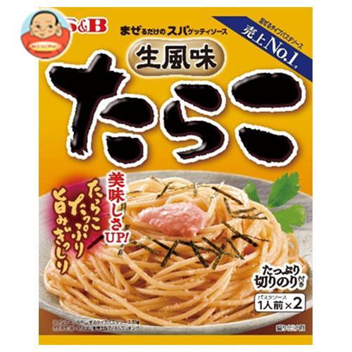 エスビー食品 S&B まぜるだけのスパゲッティソース 生風味たらこ 53.4g×10袋入