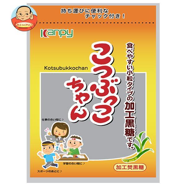 カンピー こつぶっこちゃん(黒砂糖) 100g×10袋入