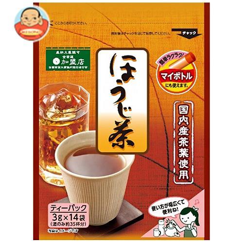 京都茶農協組合 国内産 ほうじ茶 TB 42g(3g×14P)×20袋入