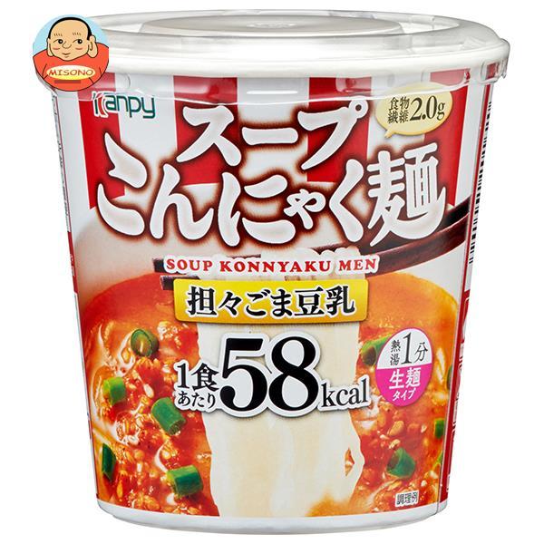 カンピー スープこんにゃく麺 担々ごま豆乳 69.5g×6個入