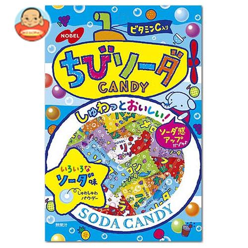 ノーベル製菓 ちびソーダ 90g×6袋入