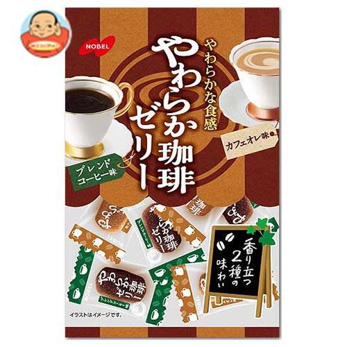 ノーベル製菓 やわらか珈琲ゼリー 180g×6袋入