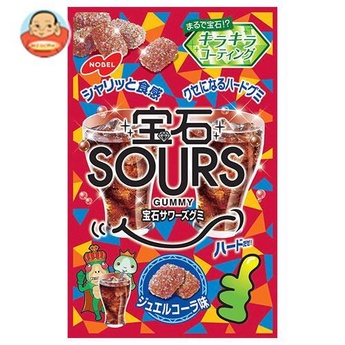 ノーベル製菓 宝石サワーズ(SOURS) ジュエルコーラ 55g×6袋入