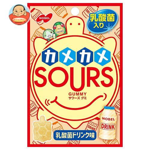 ノーベル製菓 カメカメサワーズ(SOURS) 乳酸菌ドリンク味 45g×6袋入