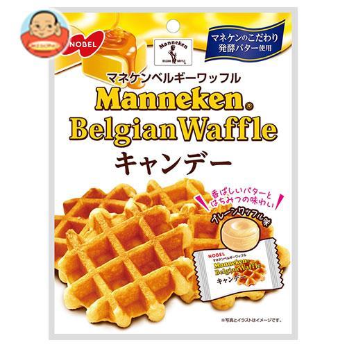 ノーベル製菓 マネケン ベルギーワッフルキャンデー 80g×6袋入