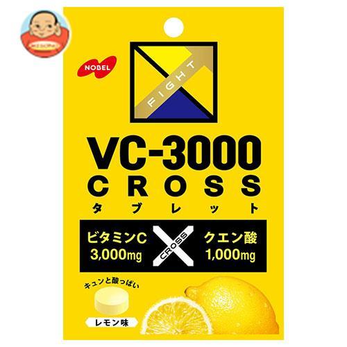 ノーベル製菓 VC-3000 CROSS(クロス) タブレット レモン 25g×6袋入