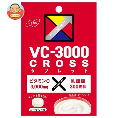 ノーベル製菓 VC-3000 CROSS(クロス) タブレット ヨーグルト 25g×6袋入
