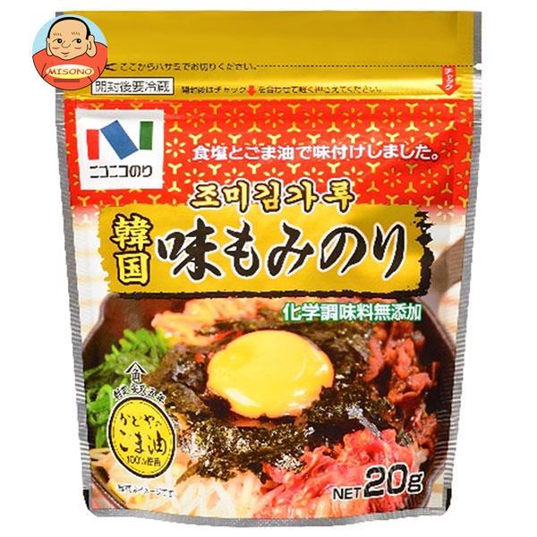 ニコニコのり 韓国味もみのり 20g×10袋入