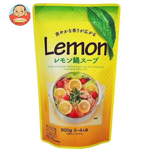 マルエ醤油 レモン鍋スープ 800g×12袋入