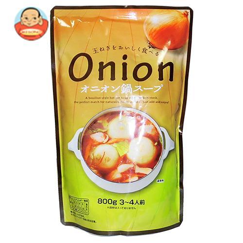 マルエ醤油 オニオン鍋スープ 800g×12袋入