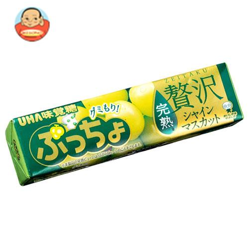 UHA味覚糖 ぷっちょスティック 贅沢シャインマスカット 10粒×10個入