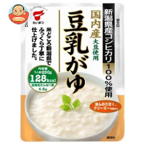 たいまつ食品 豆乳がゆ 250gパウチ×10袋入