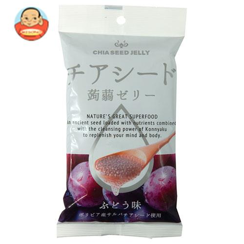チアシード蒟蒻ゼリーミニ ぶどう味 6個×24袋入