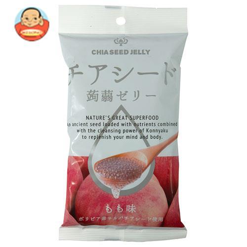 チアシード蒟蒻ゼリーミニ もも味 6個×24袋入
