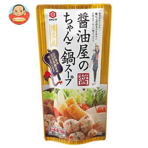 宮島醤油 醤油屋のちゃんこ鍋スープ 720g×10袋入