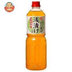 ヒガシマル醤油 浅漬けの素 3倍濃縮 1Lペットボトル×6本入