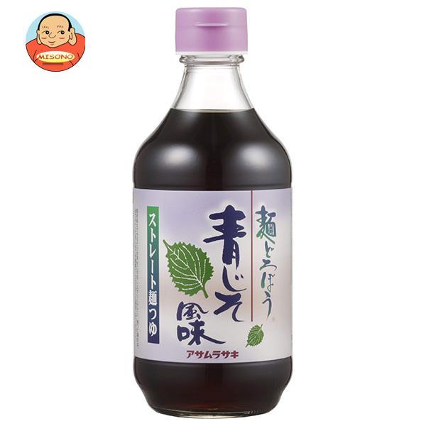 アサムラサキ 麺どろぼう 青じそ風味 400ml瓶×12本入