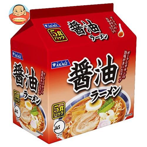 大黒食品工業 アカギ 醤油ラーメン 5食パック×6袋入