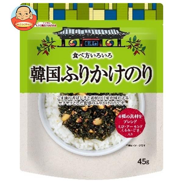 徳山物産 食べ方いろいろ 韓国ふりかけのり 45g×20袋入