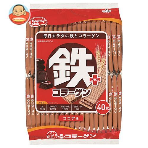 ハマダコンフェクト 鉄プラスコラーゲンウエハース 40枚×10袋入