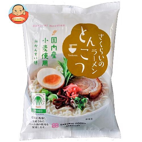 桜井食品 さくらいのラーメン とんこつ 103g×20袋入