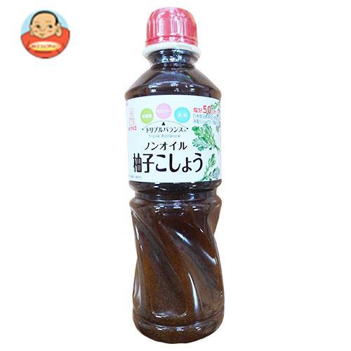 ケンコーマヨネーズ トリプルバランス ノンオイル 柚子こしょう 500ml×12本入