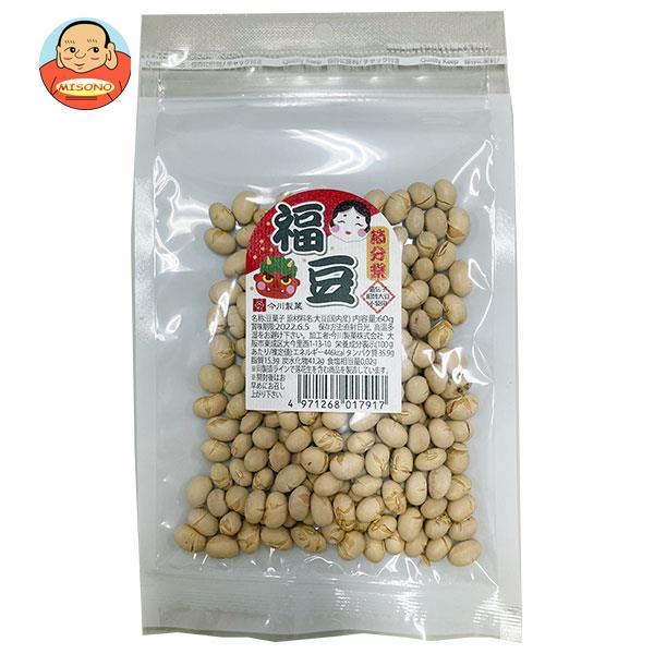 【鬼 お面付】今川製菓 節分祭 福豆 60g×4袋入