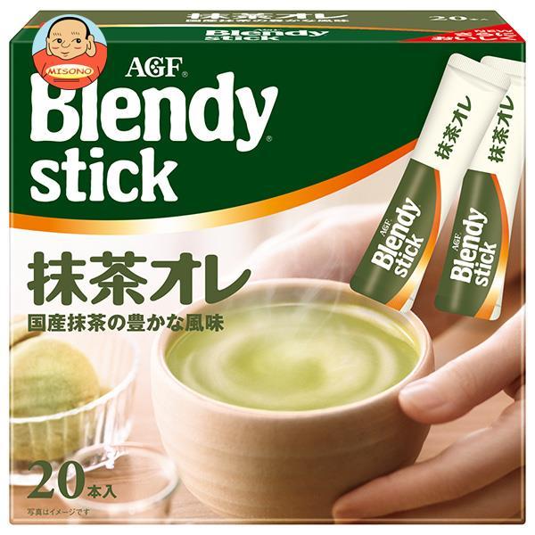 AGF ブレンディ スティック 抹茶オレ 10g×21本×6箱入