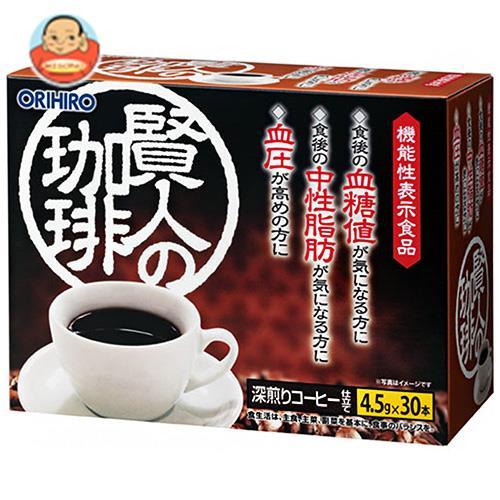 オリヒロ 賢人の珈琲【機能性表示食品】 4.5g×30本×1個入