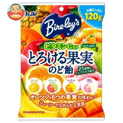 アサヒグループ食品 バヤリース とろける果実のど飴 120g×12(6×2)袋入