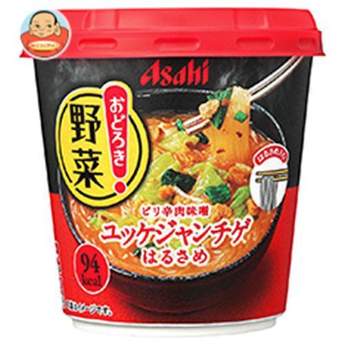 アサヒグループ食品 おどろき野菜 ユッケジャンチゲ 27.2g×6個入