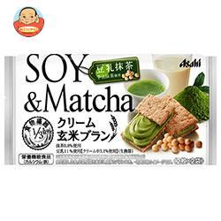 アサヒフード クリーム玄米ブラン 豆乳抹茶 72g×6袋入
