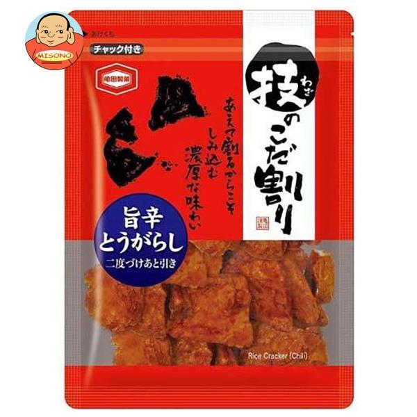 亀田製菓 技のこだ割り 旨辛とうがらし 110g×6袋入