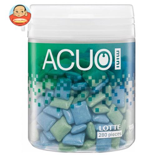 ロッテ ACUO(アクオ) mini クリアミントミックス ファミリーボトル 140g×6個入