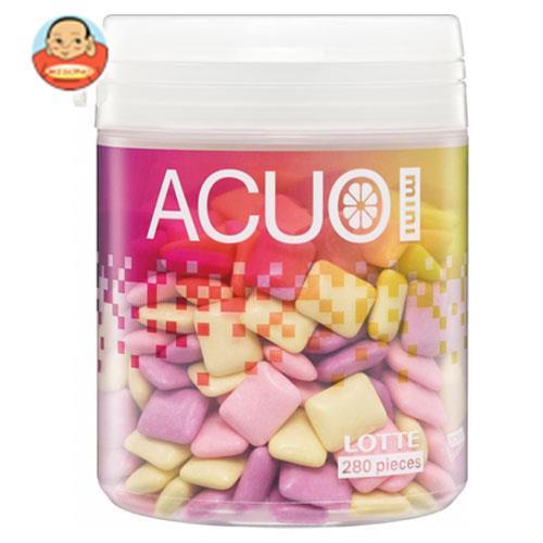 ロッテ ACUO(アクオ) mini クリアフルーツミックス ファミリーボトル 140g×6個入