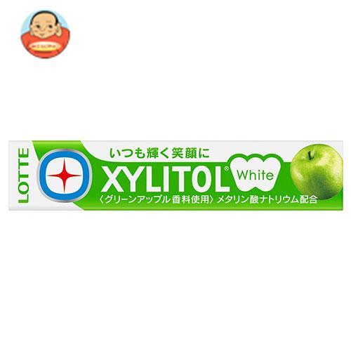 ロッテ キシリトールホワイト グリーンアップル 14粒×20個入