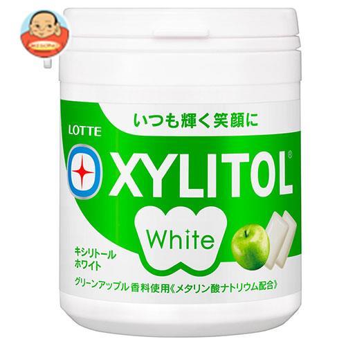 ロッテ キシリトールホワイト グリーンアップル ファミリーボトル 143g×6個入