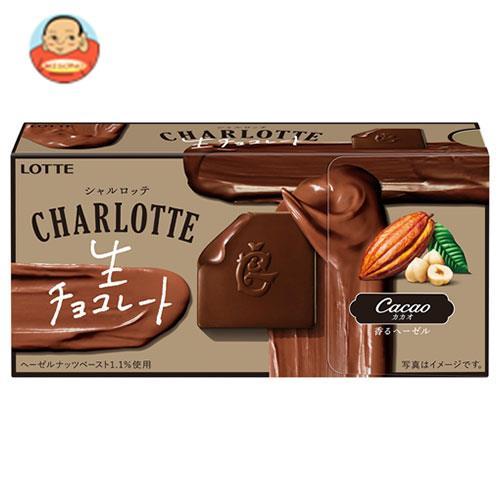ロッテ シャルロッテ 生チョコレート カカオ 12枚×6箱入