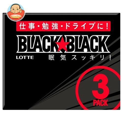 ロッテ ブラックブラックガム 3P×10個入