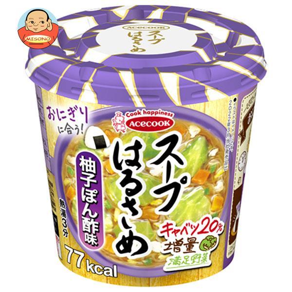 エースコック スープはるさめ 柚子ぽん酢味 32g×12個入