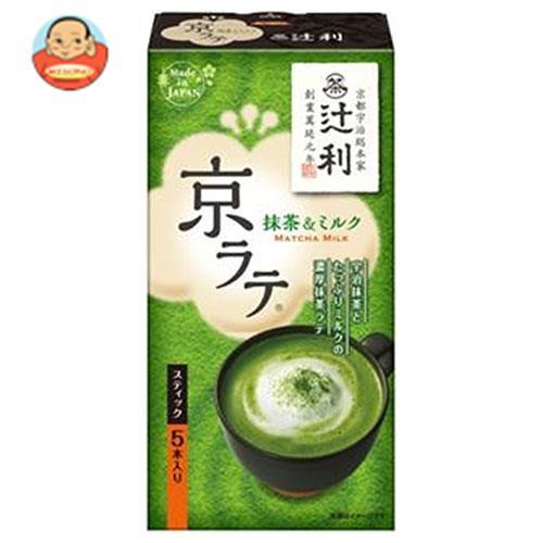 片岡物産 辻利 京ラテ 抹茶&ミルク 14.0g×5本×30箱入