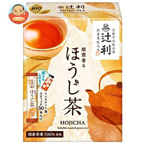 片岡物産 辻利 焙煎香るほうじ茶 (1.0g×30本)×24(6×4)箱入