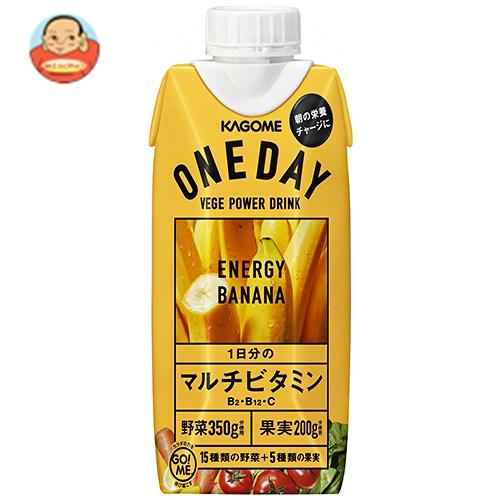 カゴメ ONE DAY ENERGY BANANA(ワンデイ エナジーバナナ) 330ml紙パック×12本入