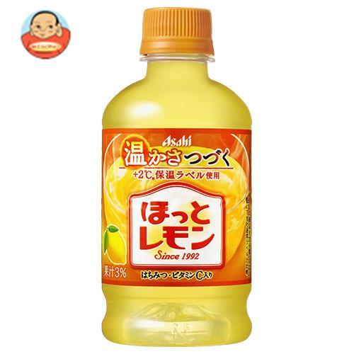 アサヒ飲料 【HOT用】ほっとレモン 325mlペットボトル×24本入