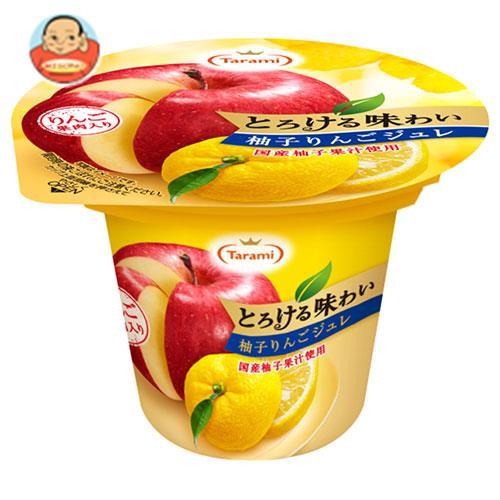たらみ とろける味わい 柚子りんごジュレ 210g×18(6×3)個入