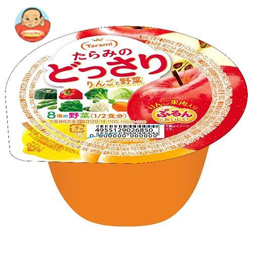 たらみ たらみのどっさり りんごと野菜のスムージー 230g×24(6×4)個入