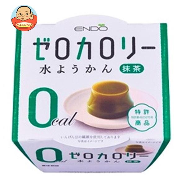 遠藤製餡 ゼロカロリー 水ようかん 抹茶 90g×24個入